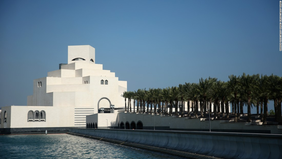 In Doha, the capital of Qatar, the Museum of Islamic Art stands on its own man-made island, just off the city's waterfront. It has become one of Doha's most popular tourist attractions.