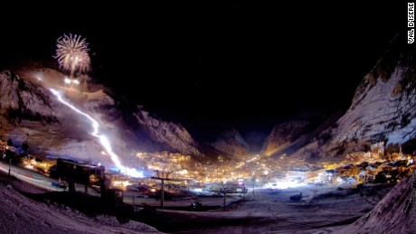 Val D'Isere: One of the world's best known resorts.