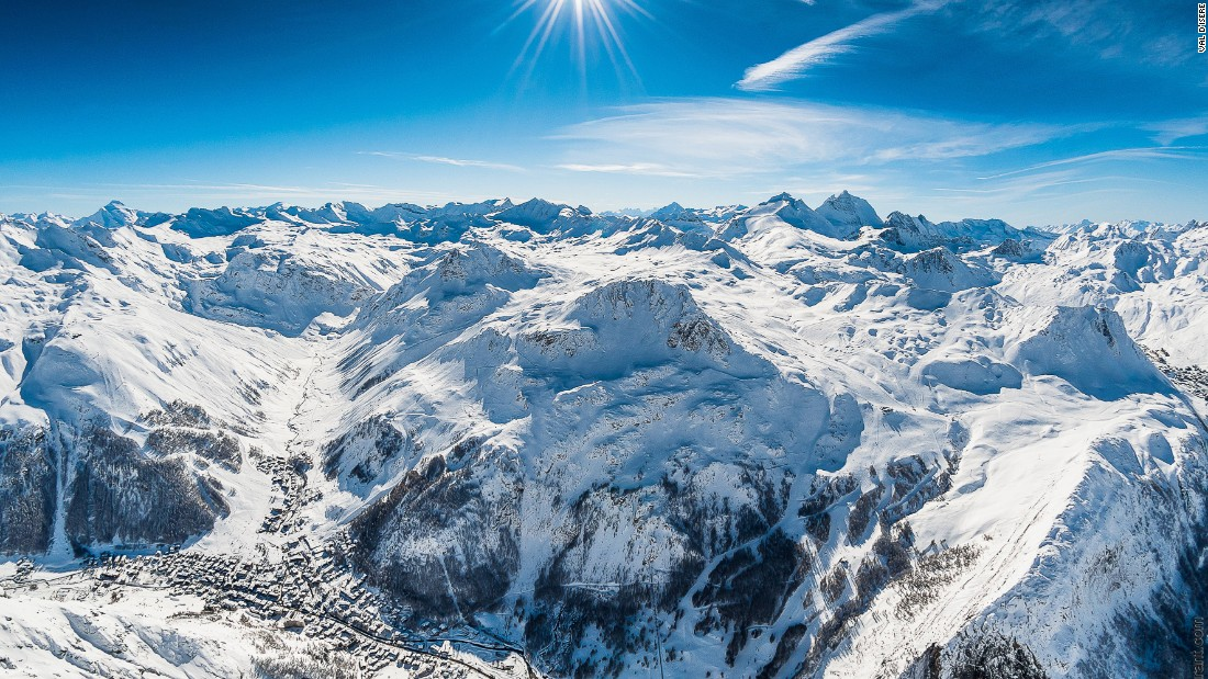 <strong>Val D'Isere, France: </strong>Val d'Isere grew out of a small alpine farming village at the end of the Tarentaise valley into one of the world's best known resorts offering 300 kilometers of runs.