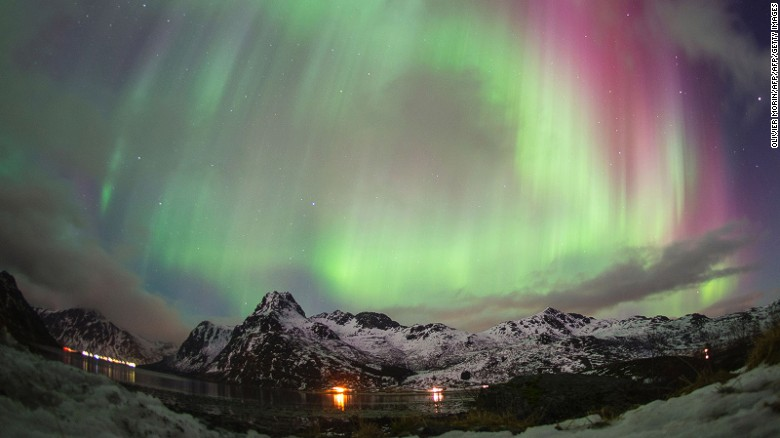 Where to surf between the Arctic Ocean and the Northern Lights.