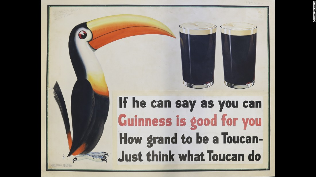 "Guinness, the famous stout beer, had among its famous slogans of the 1920s, '30s and '40s such health claims such as ""Guinness is good for you"" and ""Guinness for Strength."""