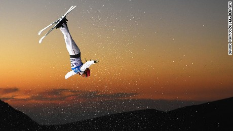 SIERRA NEVADA, SPAIN - MARCH 10:  Catrine Lavallee of Canada competes during the Women's Aerials Final on day three of the FIS Freestyle Ski and Snowboard World Championships 2017 on March 10, 2017 in Sierra Nevada, Spain.  (Photo by David Ramos/Getty Images)