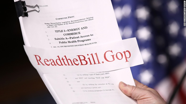 GOP's health care bill: Winners and losers