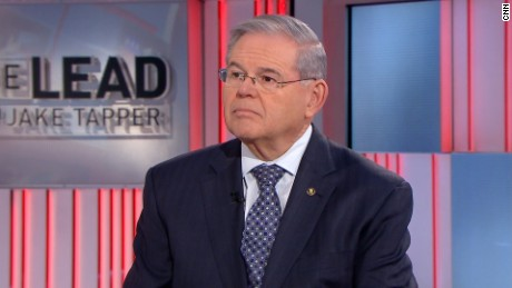 Sen. Bob Menendez appears on CNN's Jake Tapper's show