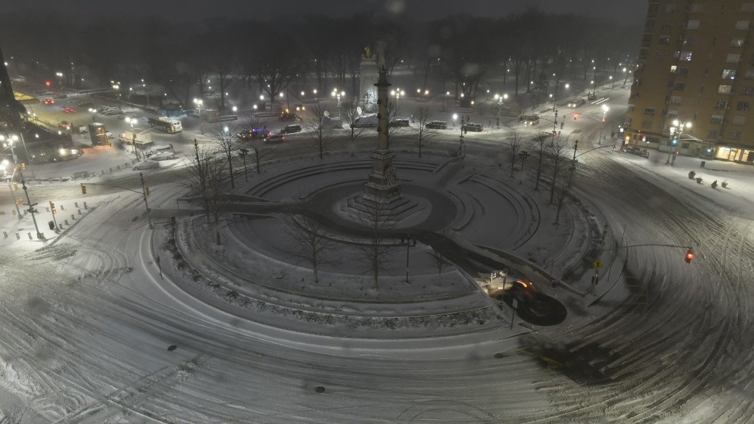 timelapses show snow cover the northeast