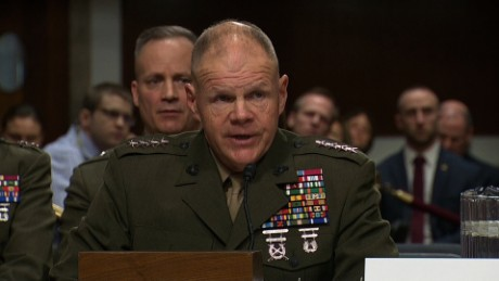 General grilled over Marine nude photo scandal