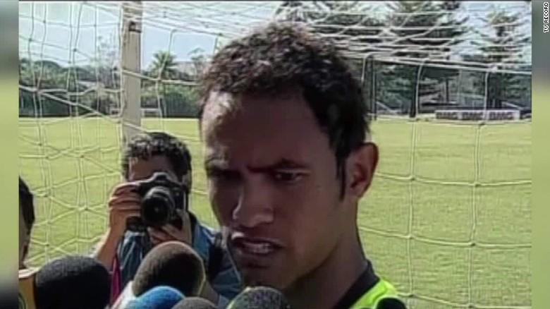 Futbol murder convict Bruno Fernandes de Souza signed CNNi_00003315