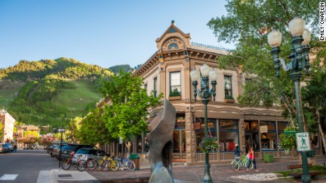 Downtown Aspen is charming year-round.