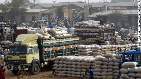 Nigeria's recovery plan involves investment in industrial agriculture.
