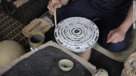 Handmade and handheld: Japan's Tezutsu Hanabi fireworks.