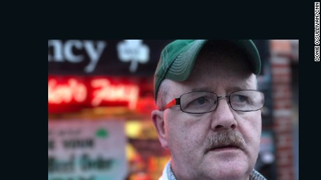 Oliver Charles, a US citizen, came to the US 40 years ago from Ireland. As a butcher in a tight-knit Irish neighborhood in the Bronx, New York, he says his customers confide they are fearful for what the future holds.