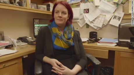 Orla Kelleher runs the Aisling Irish Community Center in the Woodlawn, an Irish neighborhood in the Bronx, New York.