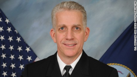 This undated image released by the U.S. Navy and provided by The San Diego Union-Tribune shows Rear Adm. Bruce Loveless. An indictment unsealed Tuesday, March 14, 2017, in federal court in San Diego alleged that retired Adm. Bruce Loveless and the other officers accepted the services of prostitutes, lavish meals and fancy trips from Leonard Francis in exchange for helping his company, Glenn Defense Marine Asia. (U.S. Navy/Courtesy The San Diego Union-Tribune via AP)