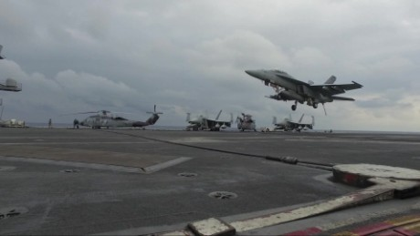 Paula Hancocks USS Carl Vinson Korea_00003011