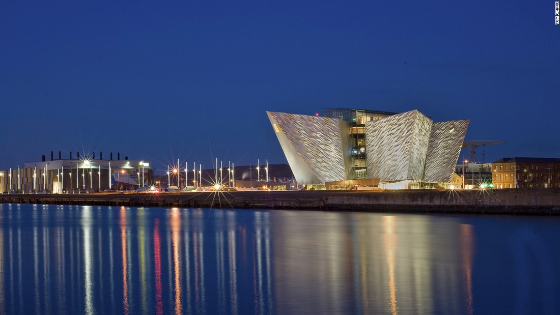 "<strong>Belfast and beyond:</strong> Belfast's biggest tourist attractions include the newly built Titanic Museum (pictured) and tours of ""Games of Thrones"" filming locations, all a short drive from the heart of the city. (Photo by <a href=""https://www.flickr.com/photos/faughan/"" target=""_blank"">Tom O'Hare</a>)."