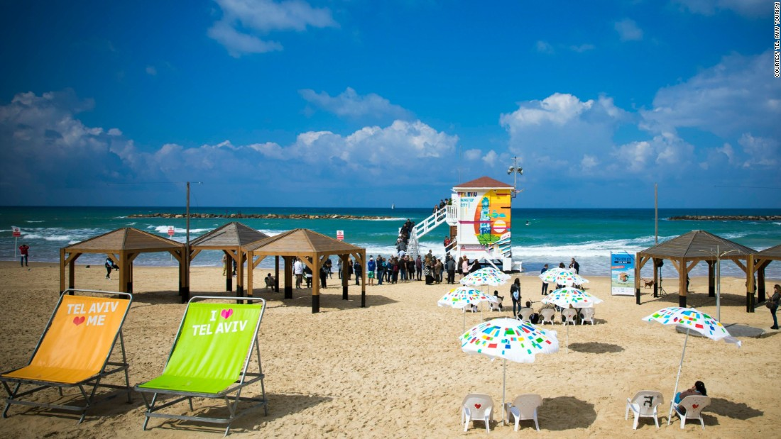 Frishman Beach: The hotel is on Tel Aviv's Frishman Beach, which is hugely popular with locals (look for weekend picnics and people jogging with their dogs).