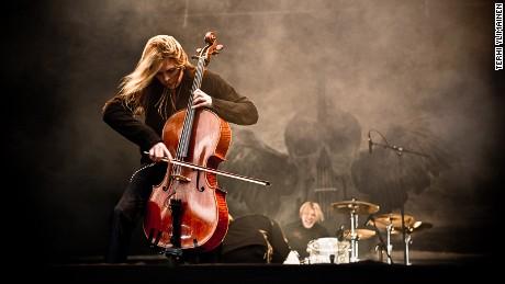Apocalyptica: Cello interpretations of Metallica hits.