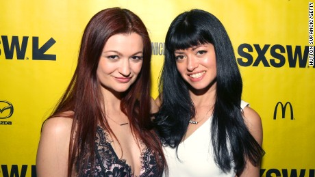 """M.F.A."" actor/writer Leah McKendrick with director Natalia Leite"