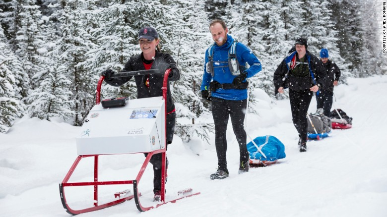 Running 100 miles in the icy Alaskan wilderness