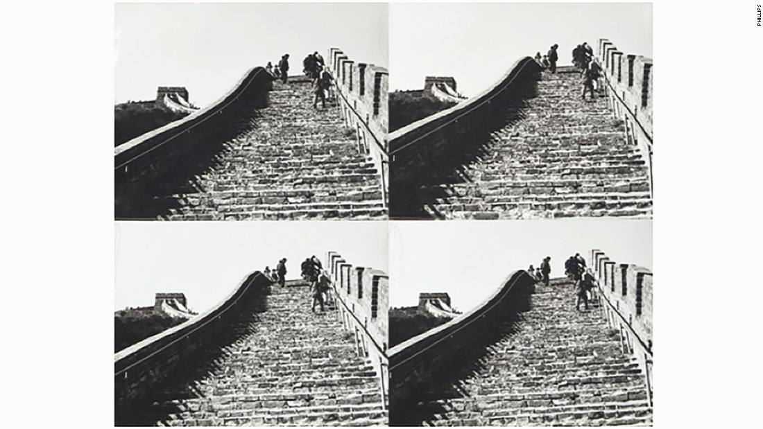 "When Warhol visited the Great Wall of China he quipped: ""Where's the escalator?"" He also reportedly complained about a lack of McDonald's restaurants in the country."