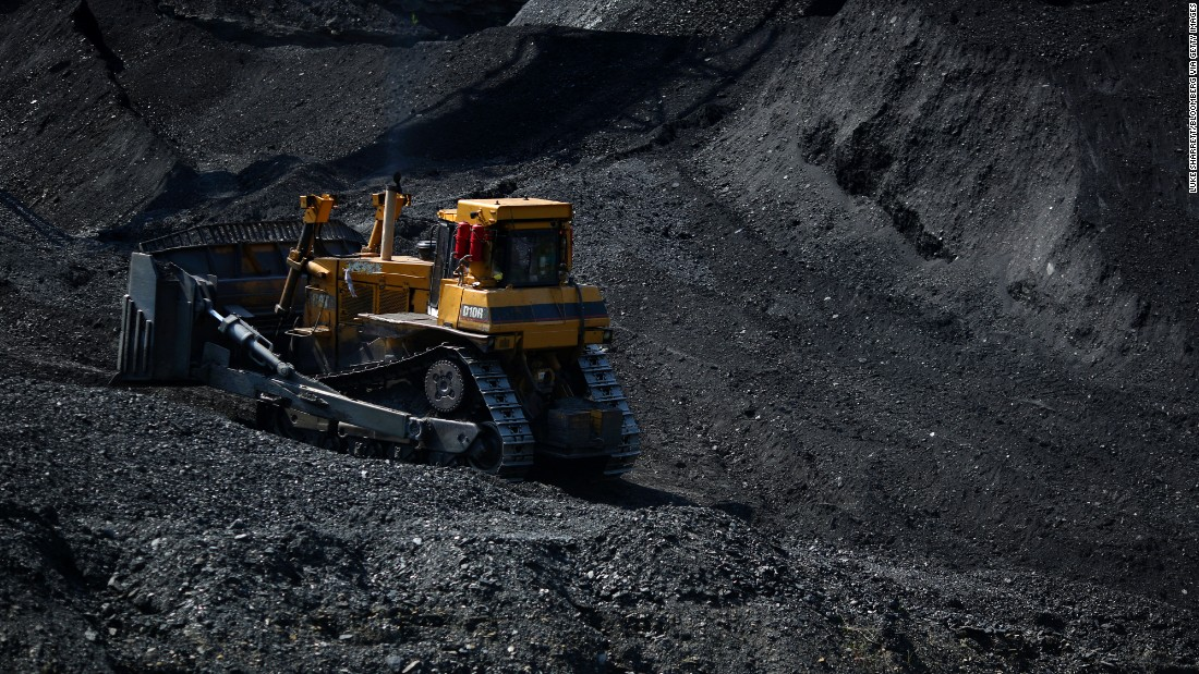 coal strip mines