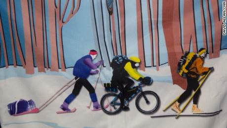 Ski, bike or run in Alaska's 100-mile call of the wild