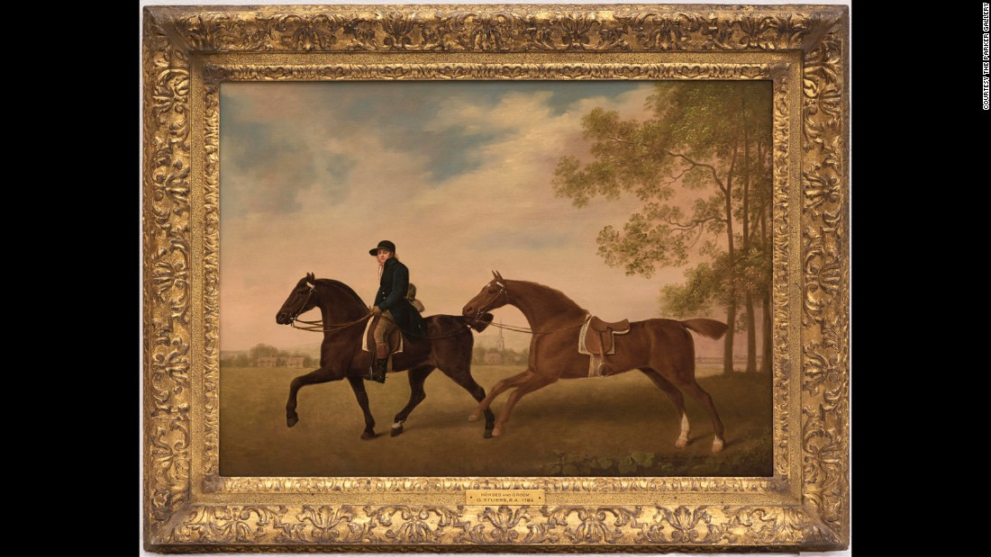 """Two Hacks"" (1789) by George Stubbs was sold at a Christie's <a href=""http://www.christies.com/living-with-art-26117.aspx?saletitle="" target=""_blank"">""Living with Art""</a> sale in New York in June 2016 -- originally listed as a copy. Art dealer Archie Parker -- believing it to be a real Stubbs -- purchased the painting for $175,000 ($215,000 with premium). The painting is currently hanging on his stand at the annual <a href=""http://www.badafair.com/"" target=""_blank"">British Antique Dealers' Association (BADA) Fair</a> in London, with an asking price of $900,000."