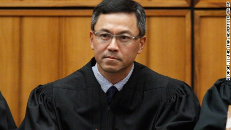 U.S. District Judge Derrick Watson in Honolulu. | George Lee/The Star-Advertiser via AP