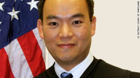Judge Theodore Chuang of Maryland.