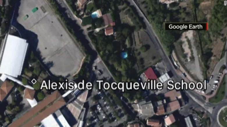 suspect arrest Grasse school shooting France_00011106