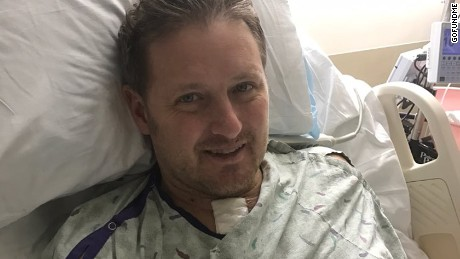 Dad's case of strep throat leads to septic shock, amputations
