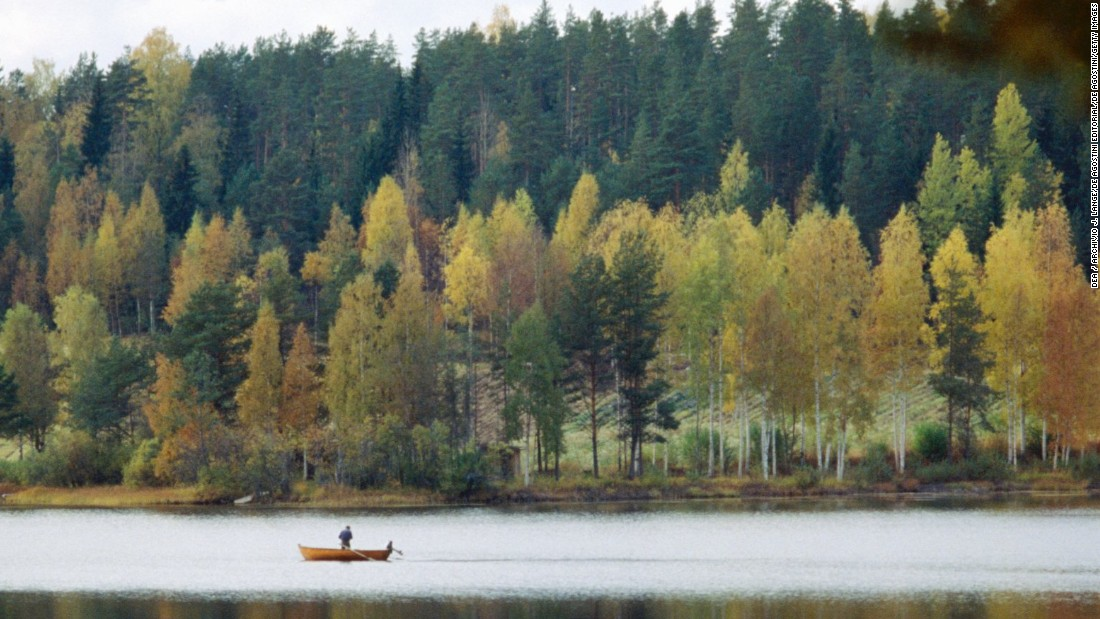 <strong>5. Finland -- </strong>Famous for its winter sports, Finland is also breathtakingly beautiful in summer, as seen here in Lakeland. The country retained its fifth place spot on this year's World Happiness Report list.