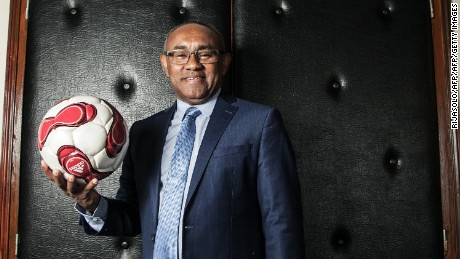 Ahmad Ahmad is the first new CAF president since 1988.