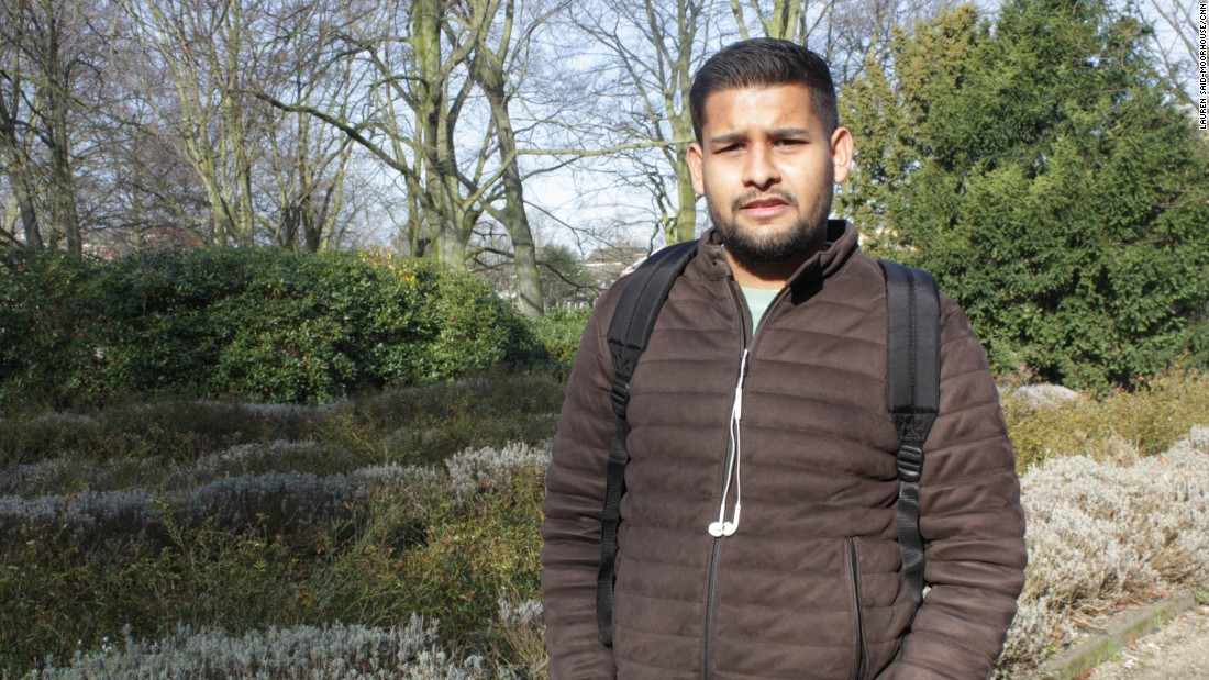 Manish Badal, 22, voted for Wilders' Freedom Party.