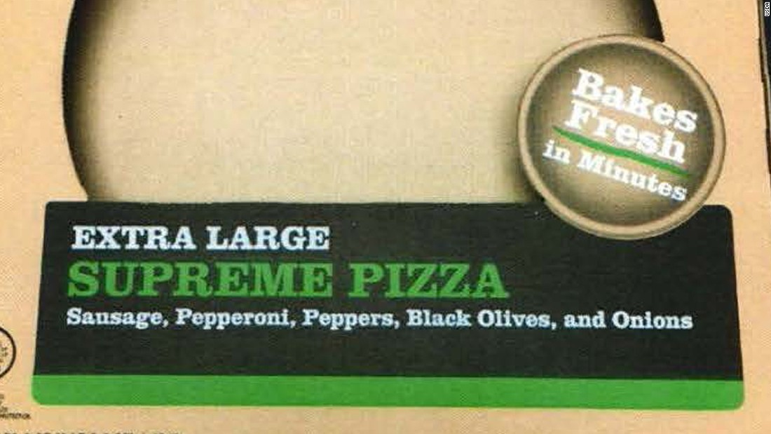 20,000 lbs of frozen pizza recalled over listeria fears