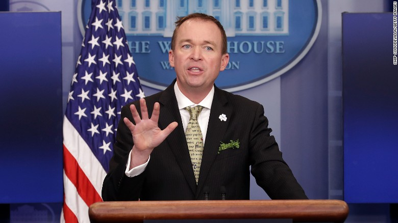 Mulvaney: We are dead serious about the wall