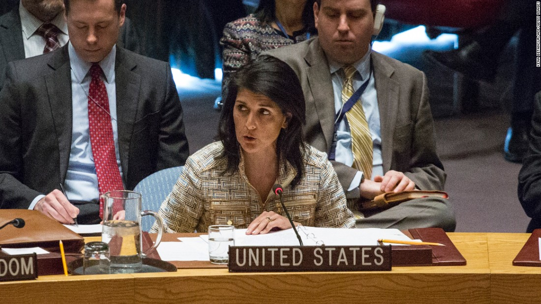 Nikki Haley on North Korea talks: US has 'been there, done that' - CNNPolitics.com