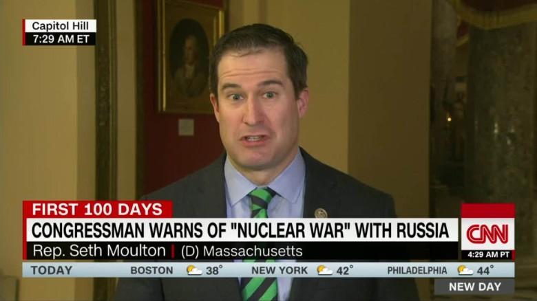 exp Congressman warns of 'nuclear war' with Russia CNNTV_00002001