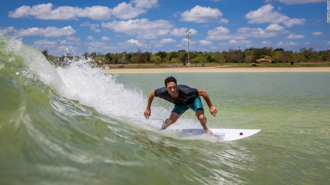 <strong>NLand: </strong>Austin may be inland, but thanks to a manmade lagoon you can learn to surf without having to board a plane.