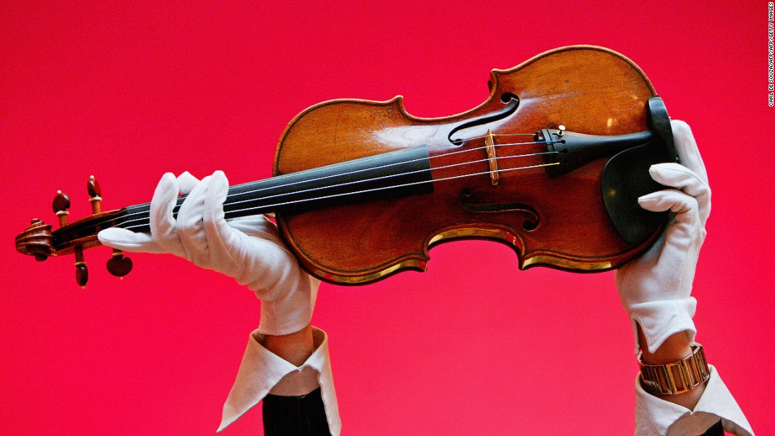 "A 1729 Stradivari violin known as the ""Solomon, Ex-Lambert"" sold for $2.7 million at a 2007 Christie's auction."