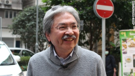 John Tsang is running to be Hong Kong's next leader.