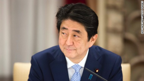 Japanese PM issues warning about North Korea
