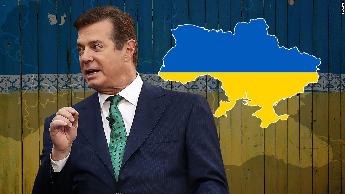 Manafort Faces Fresh Accusations In Ukraine After Document Find