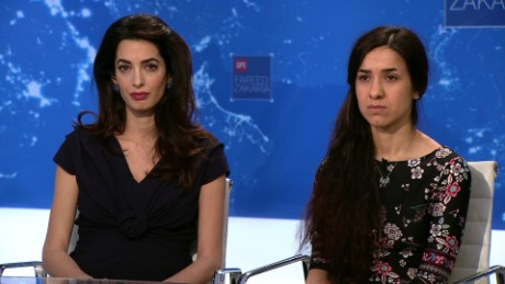 exp GPS Amal Clooney Nadia Murad ISIS legal_00005215.jpg