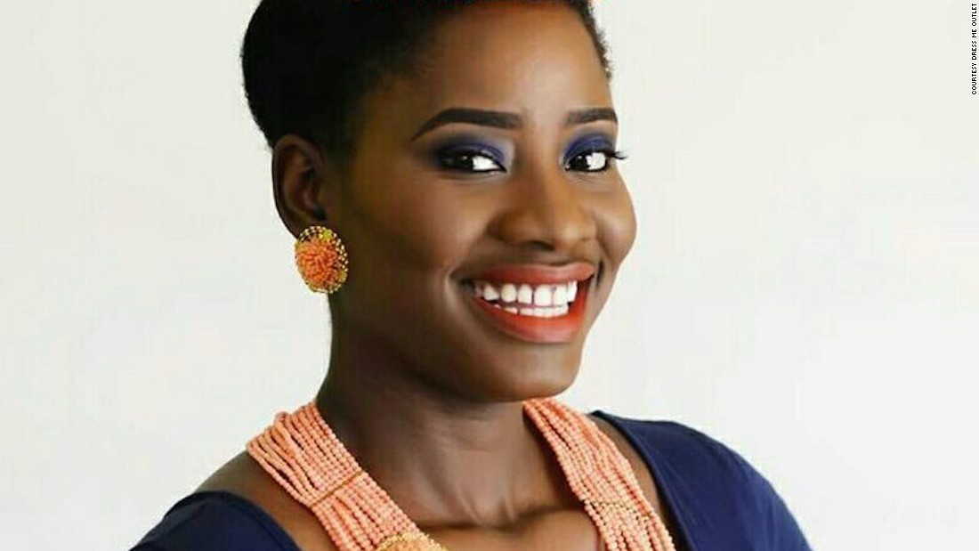 "Nigerian Olatorera Oniru is the founder of Dress Me Outlet, a site she left a corporate career in banking and tech to set up. Based in Lagos, the site sells around 85 to 95 percent of its fashion products to Nigerians. <br /><br />""Africa currently does not have a 1% share in the global fashion industry GDP which I think is very poor considering the fact that the majority of fashion's natural resources come from the continent, from gold to diamond to cotton even leather so it's only right that we have a share,"" says 30-year-old Oniru. <br /><br />Pictured: Dress Me Outlet founder Olatorera Oniru."