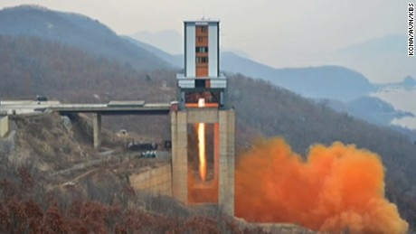 North Korea tested a new rocket at the Sohae Satellite Launching Ground, in North Pyongan Province on Sunday, March 19, 2017.