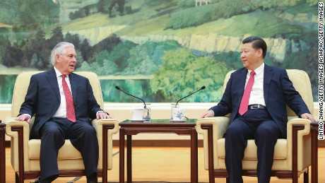 Tillerson Meets With Chinese President To Wrap Up Asia Trip