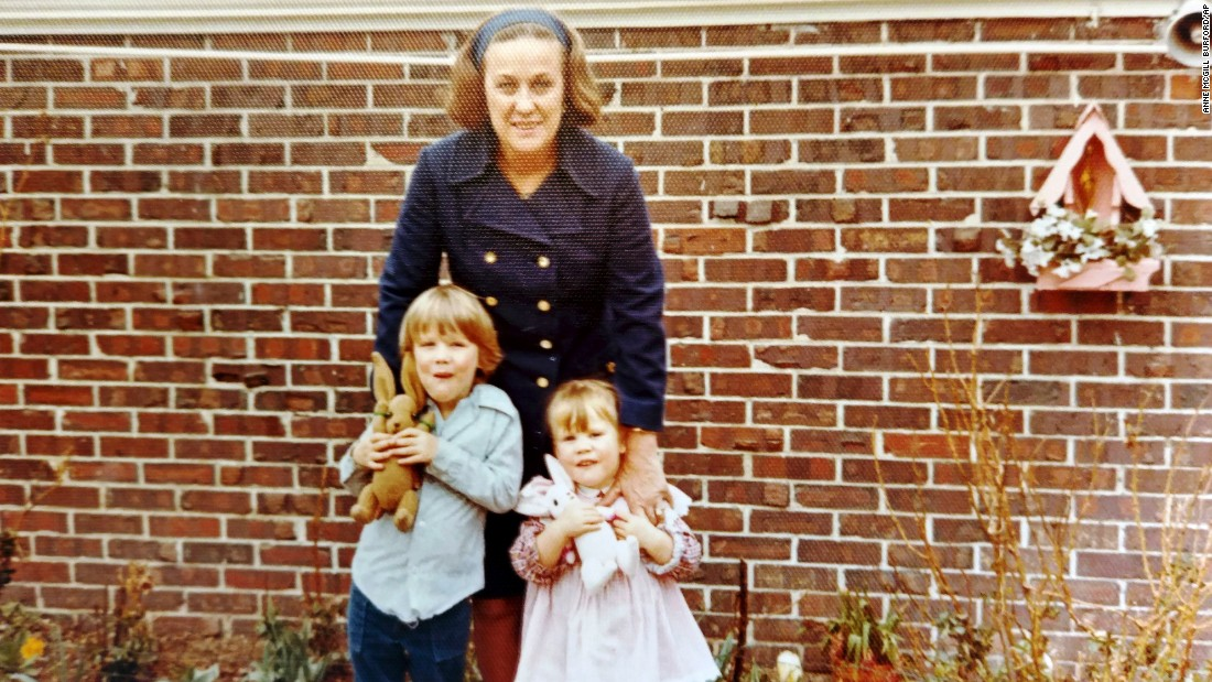 This photo provided by the Gorsuch family shows Gorsuch as a boy with his sister Stephanie and one of their grandmothers.
