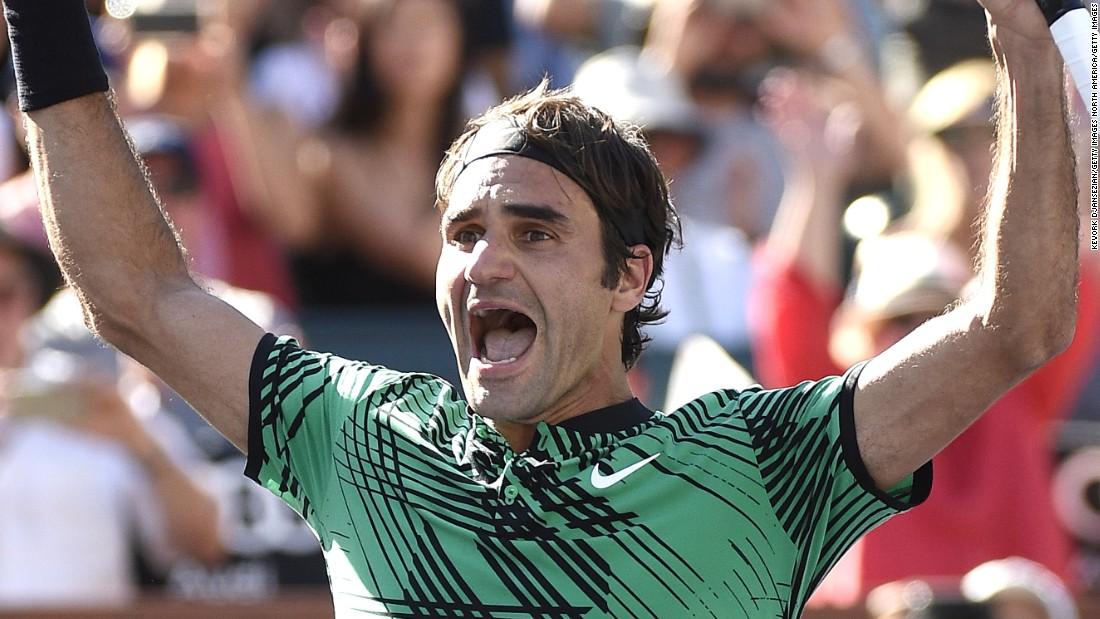 Roger Federer defeats Stan Wawrinka to claim fifth Indian Wells title