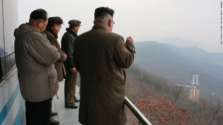U.S.  warns N Korea after missile launch, says all options on table